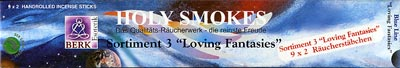 Sortimentpackung - Holy Smokes Blue Line - 3 LOVING FANTASIES