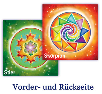Kombi-Tisch-Set - Skorpion / Stier