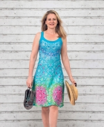 Sommerkleid karibic blue - LIMITED EDITION!